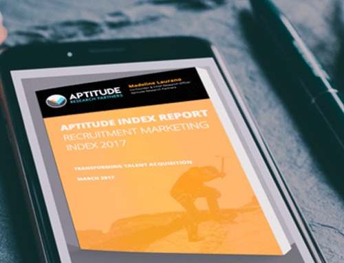 New Research on Recruitment Marketing: The Aptitude Index Report